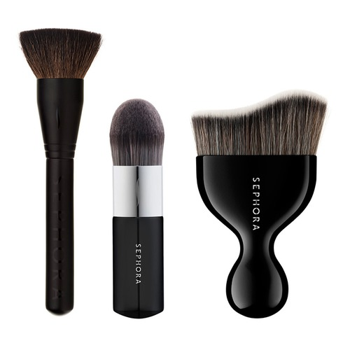 SEPHORA COLLECTION Sephora Collection Set Набор кистей для лица Sephora Collection Set Набор кистей для лица bobbi brown classic brush collection набор косметических кистей в чехле classic brush collection набор косметических кистей в чехле