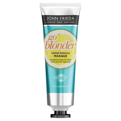 John Frieda Go Blonder Lemon Miracle Укрепляющая маска для ослабленных волос