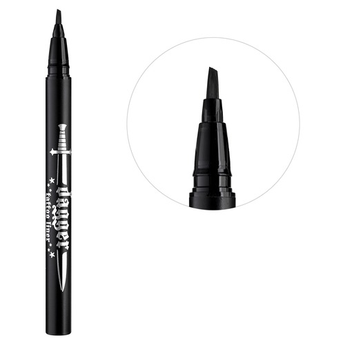 Kat Von D DAGGER TATTOO LINER Подводка для век Trooper Black free shipping 10wraps coils tattoo machine use for liner and shader professional tattoo guns pen