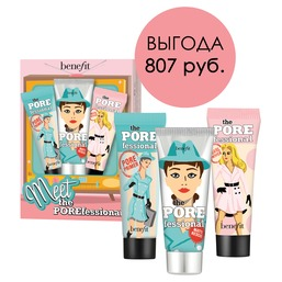 Meet the POREfessional Starter Set Набор из трех баз под макияж в мини-формате