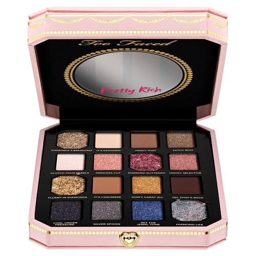 Too Faced DIAMOND LIGHT Pretty Rich Палетка теней