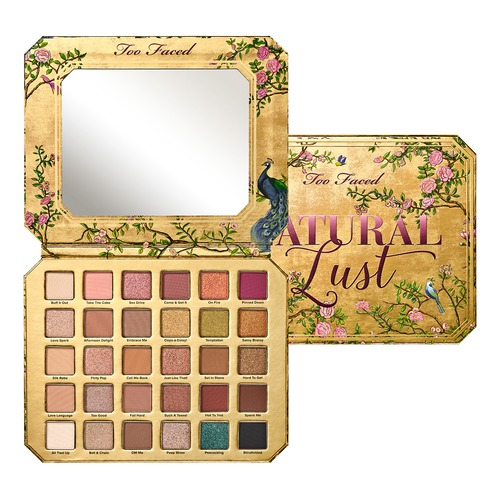Too Faced NATURAL LUST Палетка теней