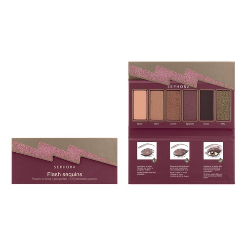 SEPHORA COLLECTION Flash Sequins Palettes Палетка теней Orange блокнот printio семейка крудс