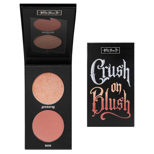 KIT CRUSH ON BLUSH Хайлайтер и румяна
