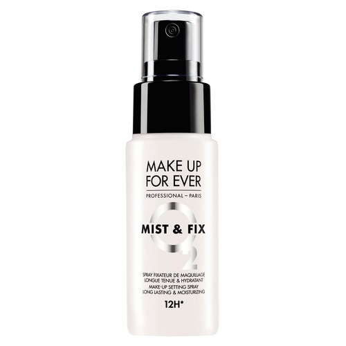 MAKE UP FOR EVER MIST & FIX HYDRATING Фиксатор для макияжа лица и тела в дорожном формате