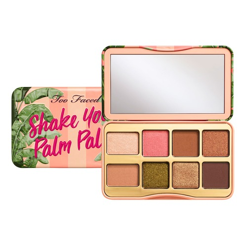 Too Faced PEACHES AND CREAM ON THE FLY SHAKE YOUR PALM Палетка теней в мини-формате too faced natural matte палетка матовых теней heaven