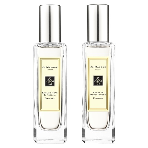 Jo Malone London ENGLISH PEAR & FREESIA и PEONY & BLUSH SUEDE Набор ароматов jo malone english pear and freesia cologne