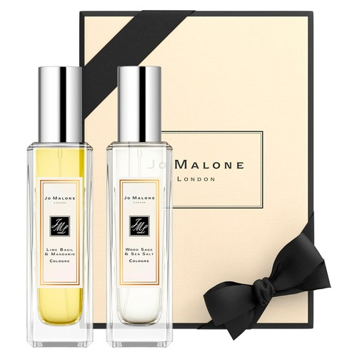 Jo Malone London WOOD SAGE & SEA SALT и LIME BASIL MANDARIN Набор ароматов