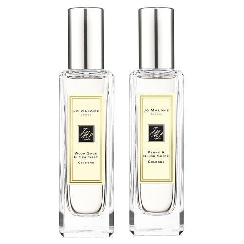 Jo Malone London WOOD SAGE & SEA SALT и PEONY BLUSH SUEDE Набор ароматов