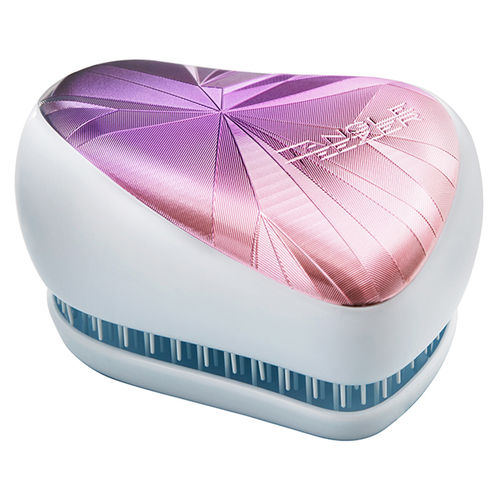 Tangle Teezer Расческа Compact Styler Smashed Holo Blue