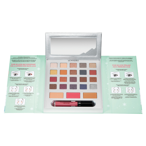 SEPHORA COLLECTION Frosted Party Палетка для макияжа лица, глаз и губ Dreams
