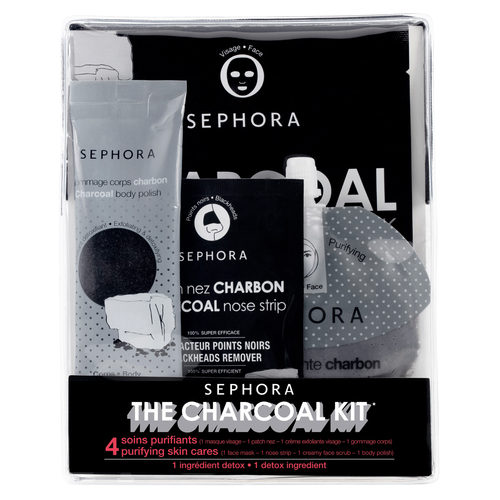 SEPHORA COLLECTION Frosted Party Набор Charcoal Kit