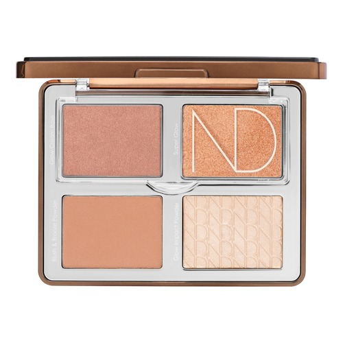 Natasha Denona BLUSH&HIGHLIGHT TAN Палетка для контуринга лица