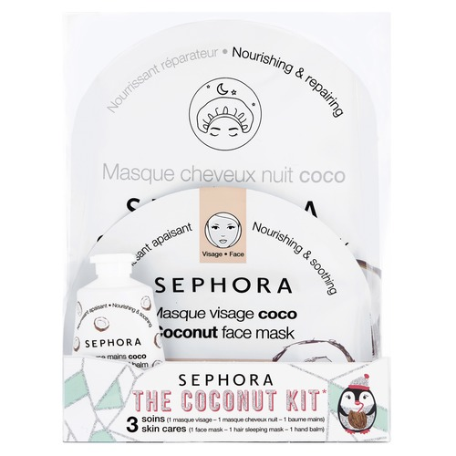 SEPHORA COLLECTION Frosted Party The Coconut Kit Набор с кокосом