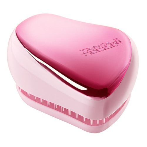 Tangle Teezer Расческа Compact Styler Baby Doll Pink Chrome