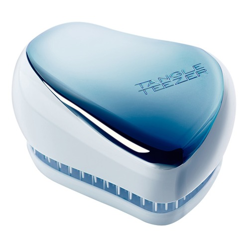 Tangle Teezer Расческа Compact Styler Sky Blue Delight Chrome