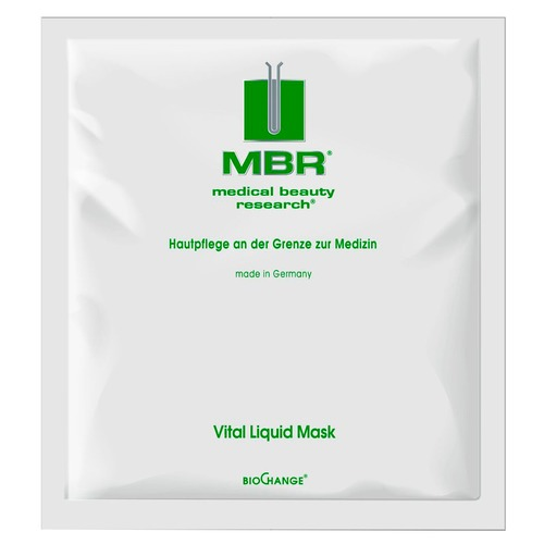 MBR BIOCHANGE VITAL LIQUID MASK Маска для лица жидкая восстанавливающая mbr biochange cell power vital serum сыворотка для сияния кожи