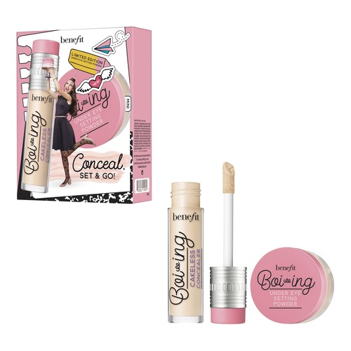 Benefit Boi-ing Набор пудра консилер ciracle red care luminant concealer pact 21 тон 12 г