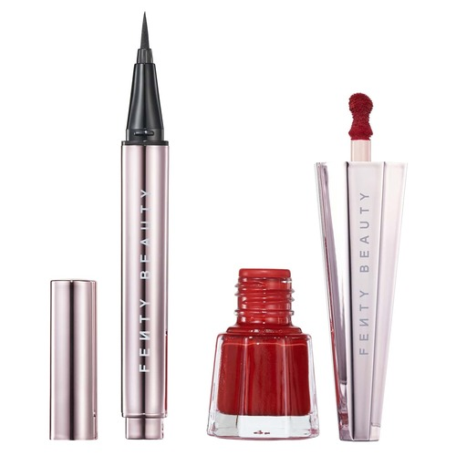 FENTY BEAUTY SET LIL FLY STUNNA MINI EYE + LIP Набор для губ и глаз