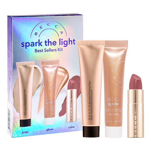 BECCA Cosmetics BEST SELLERS KITS SPARK THE LIGHT Набор недорого