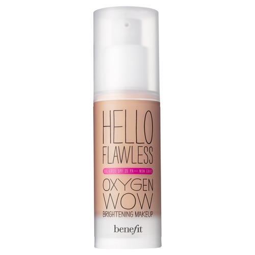 Benefit Hello Flawless Oxygen Wow Тональное средство для лица SPF25 PA+++ Toasted Beige benefit hello flawless пудра для лица spf15 shell