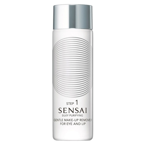 Sensai Silky Purifying Средство для снятия макияжа с глаз и губ Silky Purifying Средство для снятия макияжа с глаз и губ new arrivals high end wall mounted space aluminum toilet cleaning brush golden brass toilet brush holder bathroom accessories