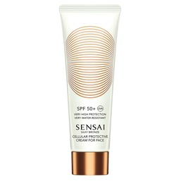 Silky Bronze Cellular Protective Cream For Face SPF50+ Солнцезащитный крем для лица SPF50+