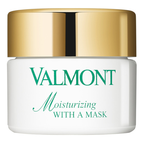 VALMONT Moisturizing With A Mask Увлажняющая маска Moisturizing With A Mask Увлажняющая маска pomegranate sleeping mask sans rincage moisturizing whitening brightening nourishing replenishment beauty salon 1000g