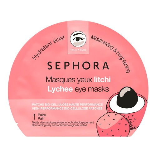 SEPHORA COLLECTION Маска для глаз с личи. Новая коллекция Маска для глаз с личи. Новая коллекция биойогурт активиа персик личи киноа 2 9