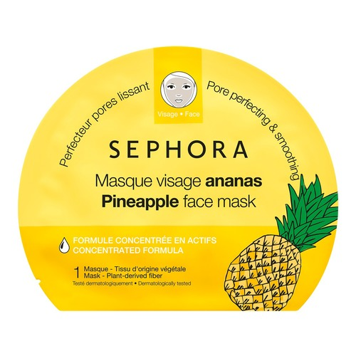 SEPHORA COLLECTION Маска для лица с ананасом. Новая коллекция маска с мумие для лица