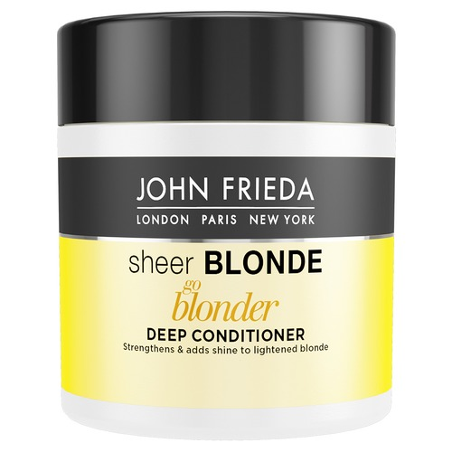 John Frieda Sheer Blonde Go Blonder Маска для светлых волос Sheer Blonde Go Blonder Маска для светлых волос kerarganic тонирующая маска color enhancing mask platinum blonde для светлых волос 473гр
