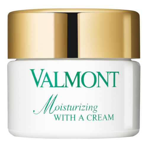 VALMONT Moisturizing With A Cream Увлажняющий крем Moisturizing With A Cream Увлажняющий крем mac lightful c tinted cream with radiance booster увлажняющий тональный крем spf30 medium dark