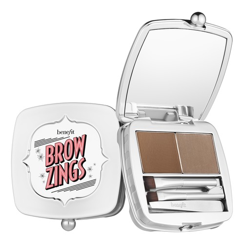 Benefit Brow Zings Палетка для бровей 04 Medium коричневый benefit foolproof brow powder пудра для бровей 03 medium