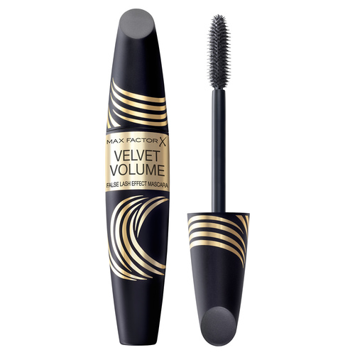 Max Factor False Lash Effect Velvet Volume Тушь с эффектом накладных ресниц Black Brown тушь для ресниц max factor false lash effect epic mascara 01 цвет 01 black variant hex name 000000 вес 20 00
