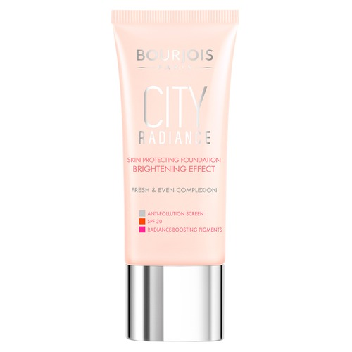 Bourjois City radiance Тональный крем SPF30 2 mac lightful c tinted cream with radiance booster увлажняющий тональный крем spf30 medium dark
