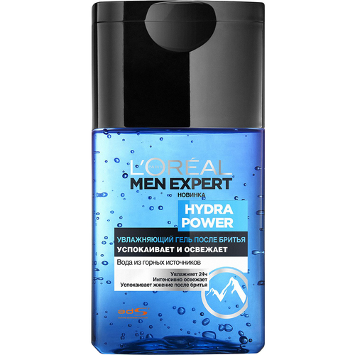 L'Oreal Paris Men Expert Hydra Power Гель после бритья Men Expert Hydra Power Гель после бритья l oreal гель для умывания me hydra power men expert 150 мл
