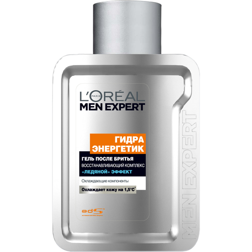 LOreal Paris Men Expert Hydra Energetic Гель после бритья
