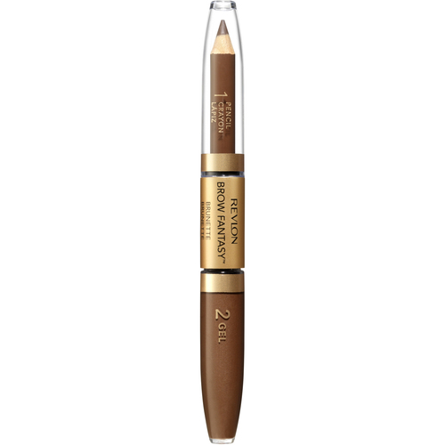 Revlon Colorstay Brow Fantasy Карандаш и гель для бровей темно-коричневый карандаш для бровей revlon colorstay™ brow fantasy™ pencil