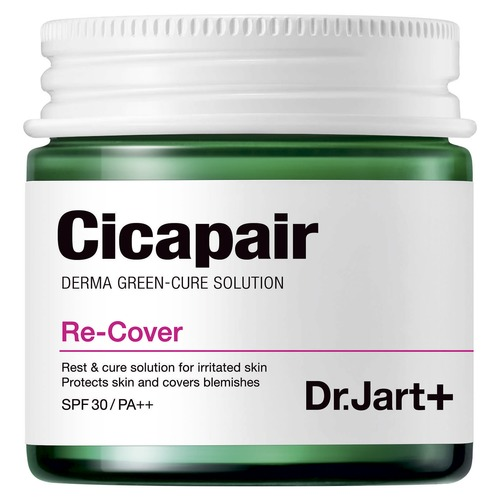 Dr. Jart+ CiCapair Восстанавливающий СС-крем-антистресс, корректирующий цвет лица SPF30 PA++ CiCapair Восстанавливающий СС-крем-антистресс, корректирующий цвет лица SPF30 PA++ маска dr jart набор масок doctor's label age defense объем 5 25 г