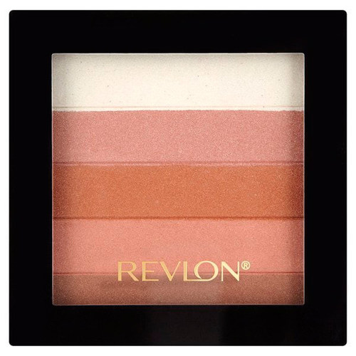 Revlon Highlighting Palette Палетка хайлайтеров 030 Bronze glow mac hyper real glow highlighter palette палетка хайлайтеров flash awe